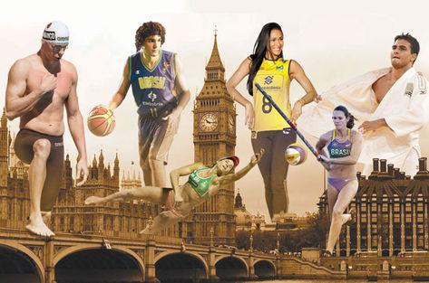 Jogadores Brasileiros que Irão Participar dos Jogos Olímpicos de Londres 2012