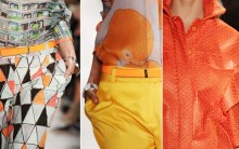 Tons Cítricos Tendências para o Verão de 2013 – Modelos