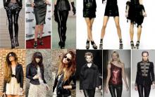 Moda Couro no Inverno – Modelos