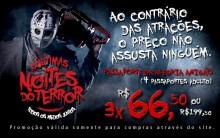 Noites do Terror no Playcenter  2012 – Confira Valores Atrações e Fotos