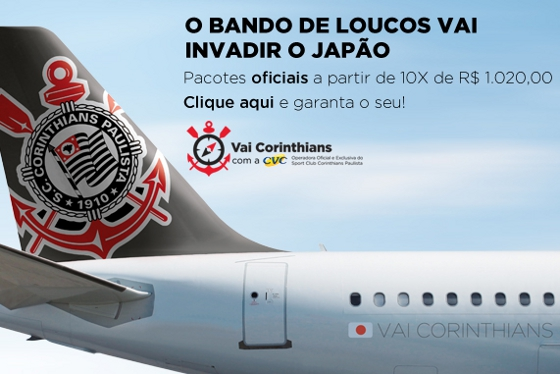Pacotes de Viagens Para Assistir os Jogos do Corinthians no Japão