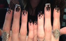 Dripped Nails Nova Tendências de Unhas Decoradas – Como Fazer Passo a Passo