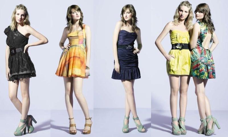 Vestidos Curtos Tendências para o Verão 2013- Fotos, Modelos, Estilos
