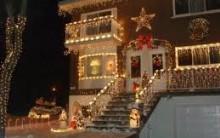 Decoração Para Casa Na Área Externa Com Pisca – Pisca Para o Natal