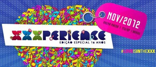 XXXPERIENCE Festival 2012 – Ingressos, Data, Loja Virtual, Cadastro