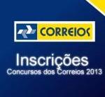 Concurso Público Correios 2013 – Inscrições, Datas, Edital, Provas