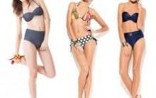 Tendências de Biquíni de Cintura Alta Para o Verão de 2013 – Modelos