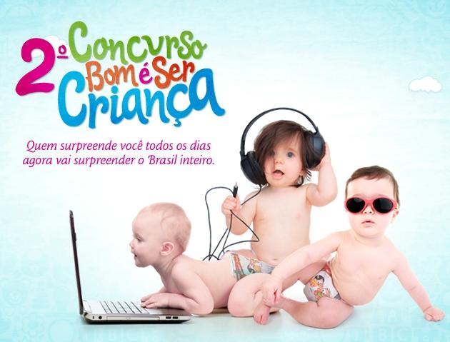 2º Concurso como é Bom ser Criança 2012 – Como Participar, Data, Premiação
