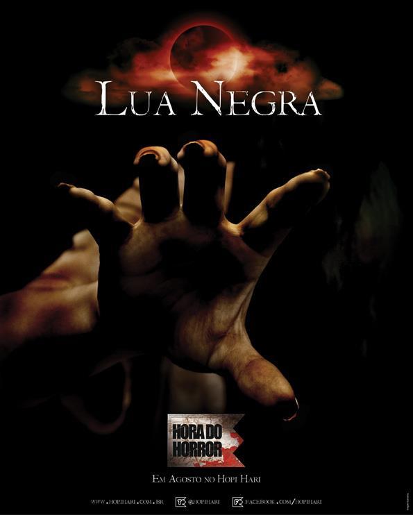 Hopi Hari Hora do Horror Lua  Negra 2012 – Atração, Venda de Ingressos, Vídeo e Fotos