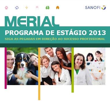 Programa de Estágio Merial 2013 – Data, Provas, Inscrições, Beneficios
