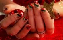 Tendências de unhas Decoradas Para o Natal de 2012 – Como Fazer Passo a Passo