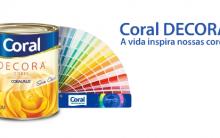 Lançamento de Tintas Coral para 2013 – Cores, Tendências, Loja Virtual