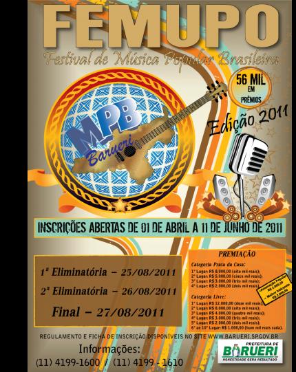 O Femupo 2013 – O Que é, Informações, Datas, Inscrições, Premiação