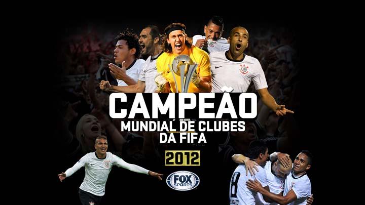 Pôster Oficial Corinthians Libertadores e Mundial de Clubes Pela Fifa 2012