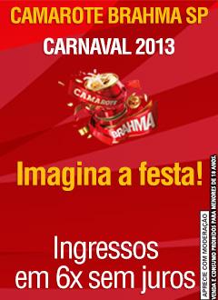 Camarote  Brahma Carnaval 2013 – comprar ingressos