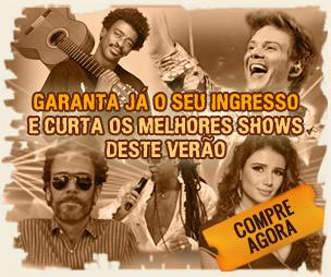 Verão Jequitimar 2013 –  Shows, Onde Comprar Ingressos, Valores