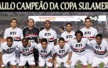 Jogo do São Paulo x Tigre; O Time Argentino Abandona o Título Copa Sul-Americana, São Paulo é o Campeão