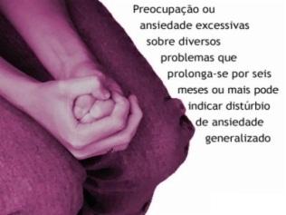 Ansiedade Generalizada Doença – Informções, Diagnostico, Sintomas, Tratamento