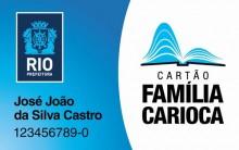Família Carioca 2013 – Cadastro, Direitos, Informações