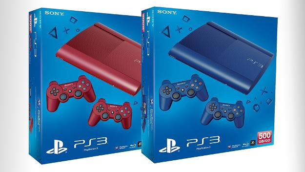 Game Playstation 3 Ganha duas  Novas Cores no Japão – Ver Fotos e Informações