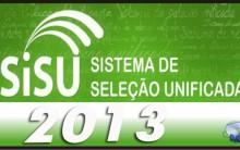 Lista de Aprovados 1º Chamada do Vestibular Sisu 2013 – Fazer Consulta Online, Datas Para a Matrícula
