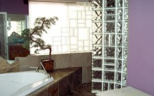 Decoração de Banheiros com Tijolo de Vidro – Modelos de Decoração