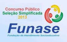 Concurso Funase PE 2013 – Como se Inscrever, Datas, Provas, Edital, Taxa de Inscrição