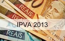 Licenciamento IPVA 2013 – Consultar, Pagamentos, Tabela de Vencimento