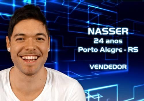 Nasser Rodrigues BBB13 – Fotos, Vídeos, facebook, Twitter de Nasser Rodrigues Participante do BBB13