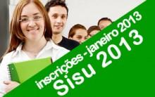 Inscrições SISU 2013 – O Que è SISU, Como se Inscrever
