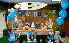 Festa de Aniversario Infantil  2013 Tema os Ursinhos Surfistas- Fotos e Modelos e Dicas de Decorações