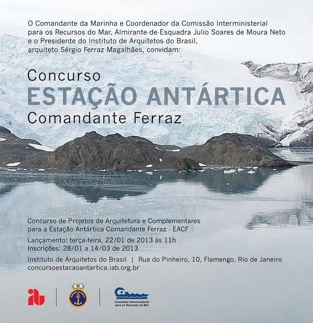 Concurso Estação Antártica 2013