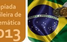 Olimpíadas de Matemática 2013 – Data das Provas, Informações, Site
