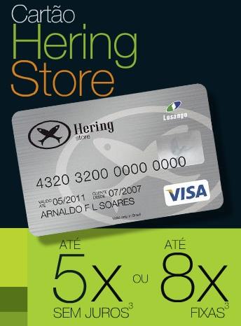 Cartão Hering – Vantagens, Como Fazer e Fatura Online