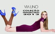 Nova Coleção Via Uno Verão 2013 – Fotos, Modelos, Tendências e Loja Virtual