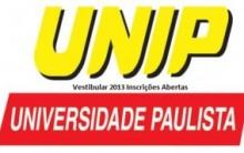 Vestibular Unip 2013 – Inscrições, Datas, Provas, Processo Seletivo, Cursos