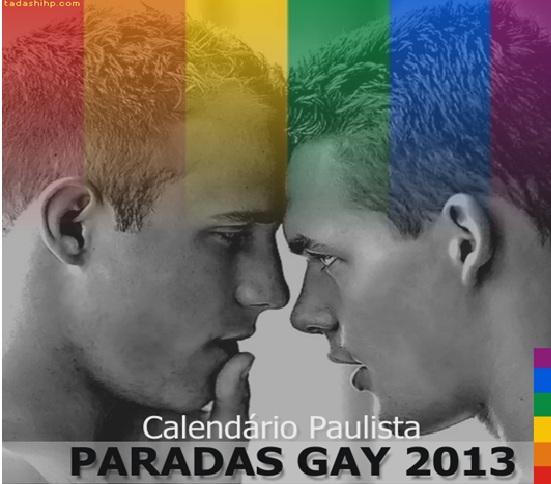 Parada Gay 2013 em São Paulo – Datas, Atrações e Programação