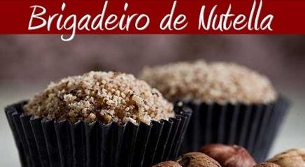 Receita de Brigadeiro de Nutella – Como Preparar, Ingredientes