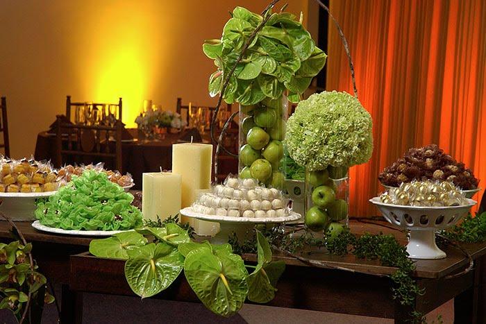 Decoração Para Festa De Casamento Verde E Branco – Fotos E Tendências