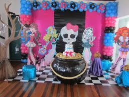 Decoração Festa Aniversário Infantil Monster High 2013 – Fotos e Dicas