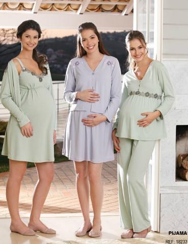 Pijamas Para Levar a Maternidade – Tendências, Onde Comprar e Modelos