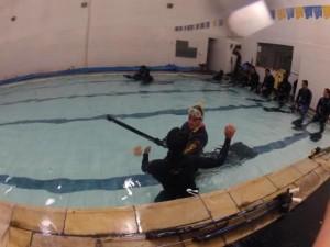 aulas de mergulho