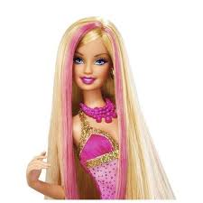 barbie cabelo