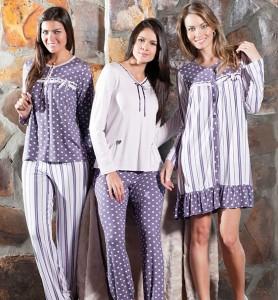 camisola pijama gravida
