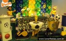 Decorações de Festa de Aniversário Tem Copa do Mundo-Fotos, Modelos e Dicas