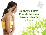 cranberry infecçao urinaria