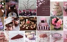 Decoração para Casamento 2013 Rosa e Marrom – Fotos Modelos e Dicas