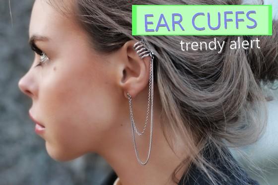 Nova Tendência dos Earcuffs 2013 – Foto, Modelos e Onde Comprar
