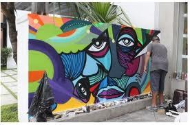 grafites desenhados