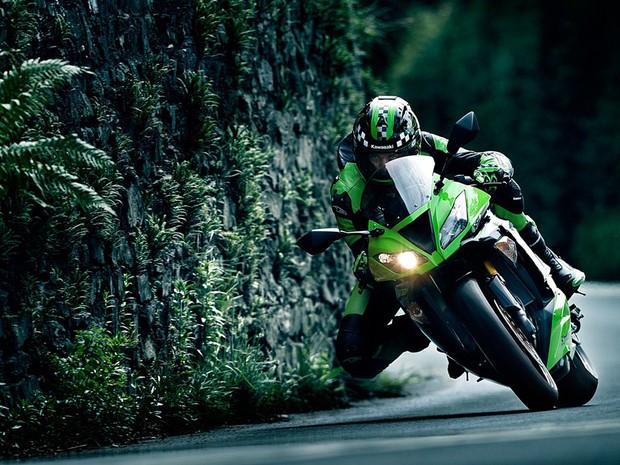 Nova Moto Kawasaki NinjaZX-6R 2013 – Fotos, Preço, Vídeos e Funções